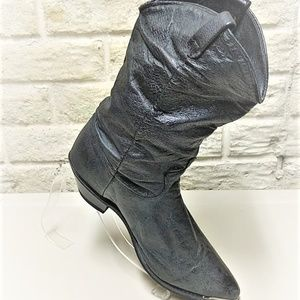 Dingo Western Boots Distressed